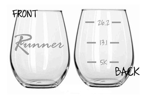 Running Runner Glass Set