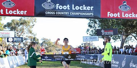 Grant Fisher, Running Times High School Athlete of the Week