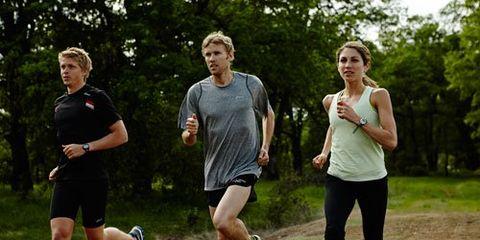Ryan and Sara Hall Running