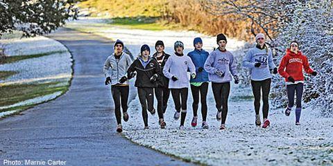media: HS winter running