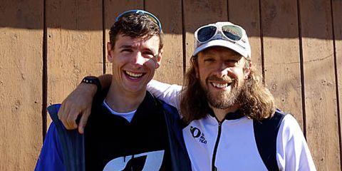 Ian Sharman and Nick Clark