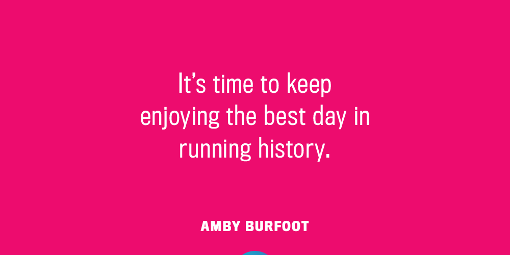 Motivational quotes Amby Burfoot