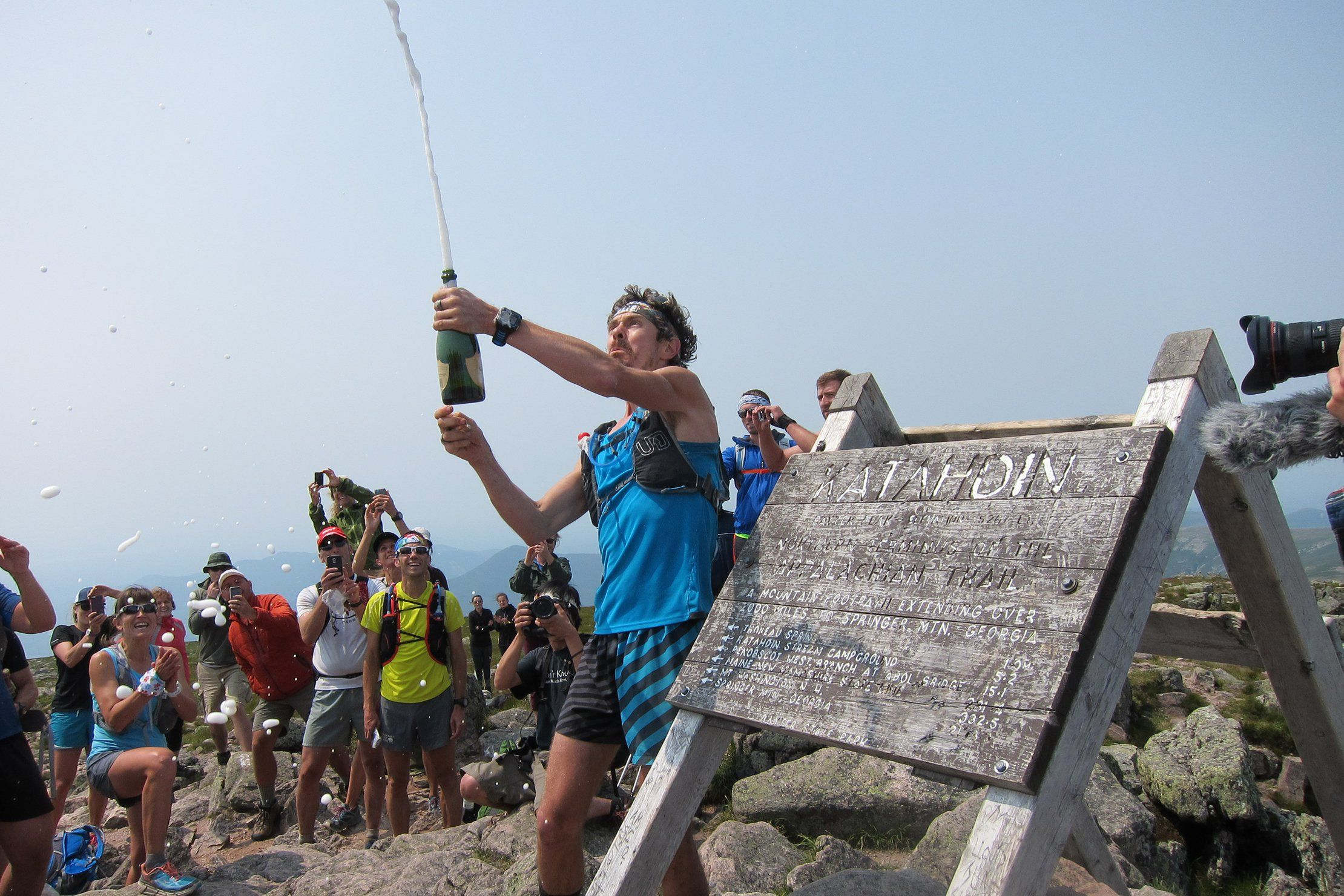 c9d8c70e781c3 Scott Jurek Celebrates a New Appalachian Trail Thru-Hike Speed Record