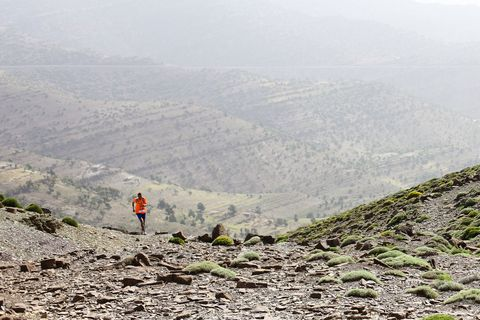 Mountainous landforms, Atmospheric phenomenon, Highland, Slope, Mountain, Valley, Haze, Adventure, Hill station, Walking,