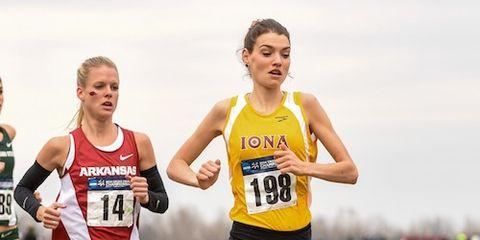 Kate Avery Iona NCAA Champ
