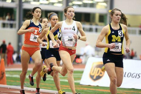 Katie Borchers, Ohio State, Big Ten 800m Champion