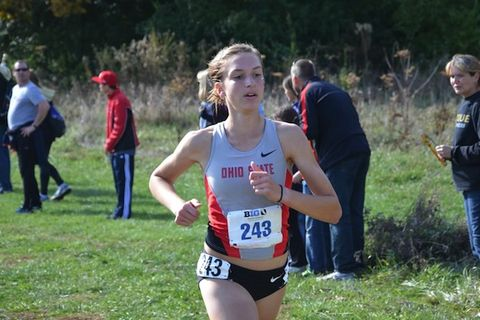 Katie Borchers, Ohio State, Cross Country All-American