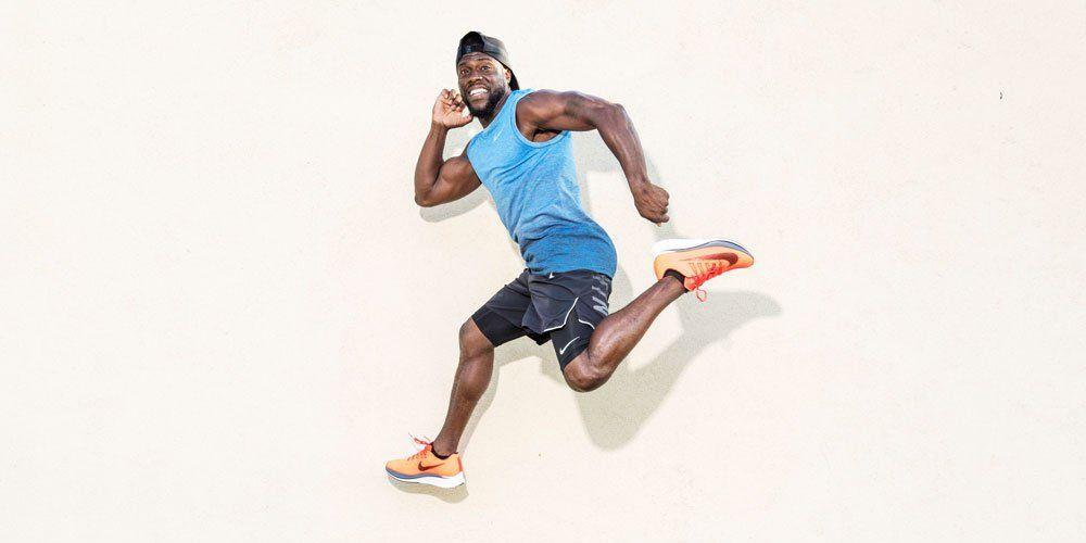 Kevin Hart training for New York City Marathon