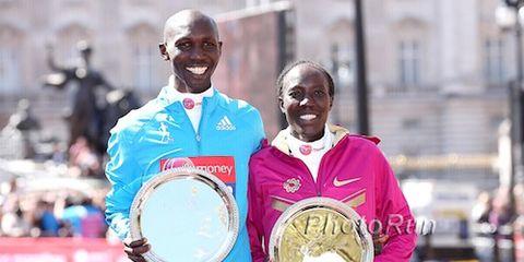 2014 World Marathon Rankings - Wilson Kipsang and Edna Kiplagat