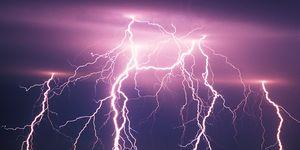 Bolts of lightning