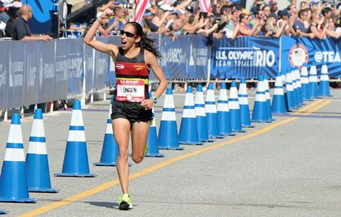 Desiree Linden, US Olympic marathoner
