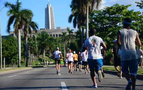 What It\'s Like to Run at the Havana Marathon in Cuba | Runner\'s World
