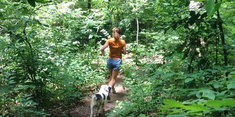 masters trail runner