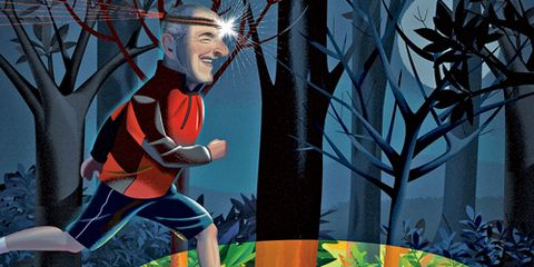 Newbie running with a headlamp