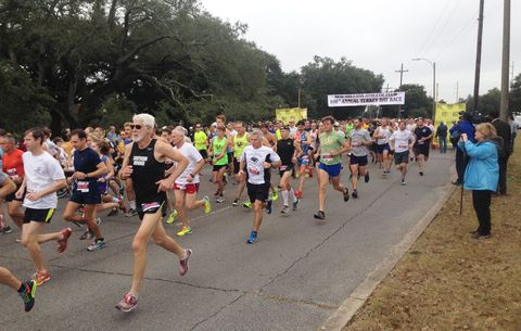 New Orleans Athletic Club Turkey Day Race