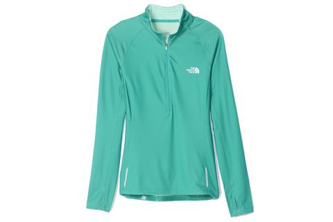North Face isolate half-zip