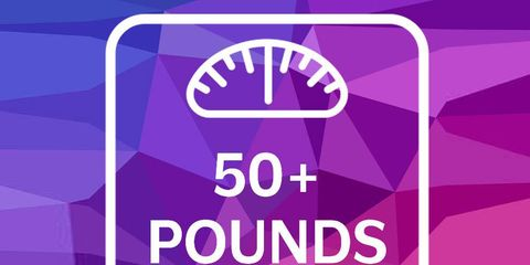 50+pounds graphic