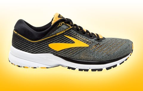 b19c0c8fef0 Brooks Launch 5 Limited Edition Pittsburgh-Themed Shoe