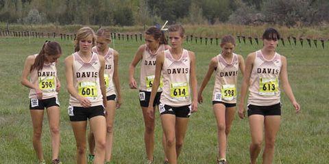 Davis Girls Utah XC Rankings
