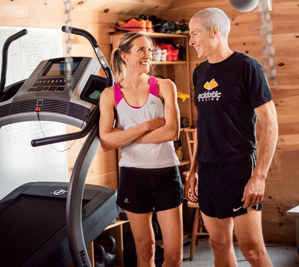 This crazy fit couple has the cross training garage of your dreams
