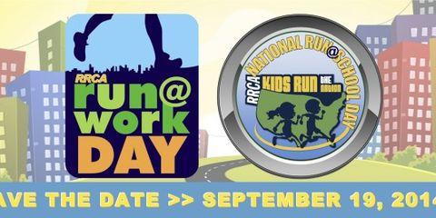 Run@Work Day logo