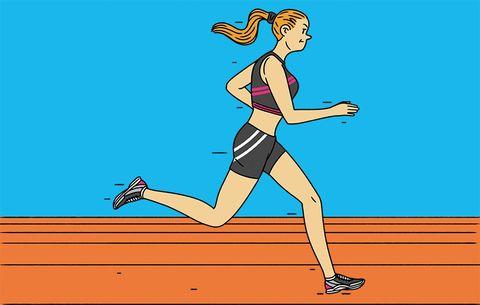 april 2017 the fast break race prep short rest for 5K racers