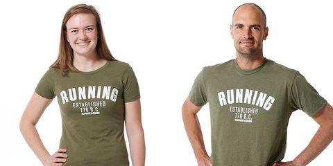RW Running Established 776 shirts