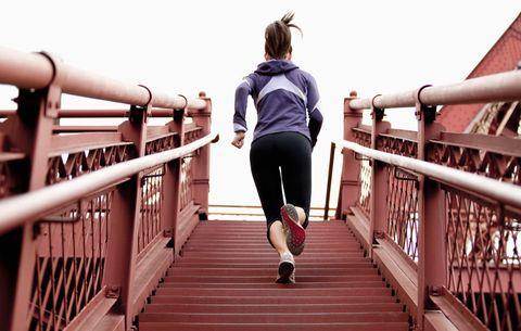 Running staircase