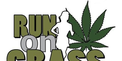 Run on Grass logo