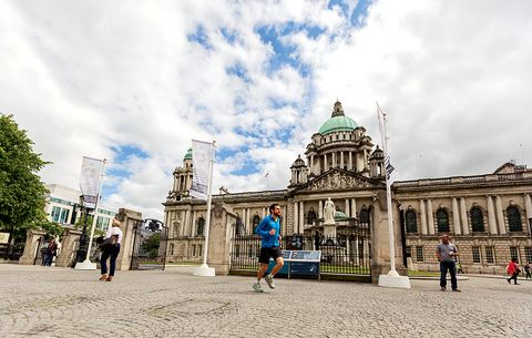 running the world belfast city hall