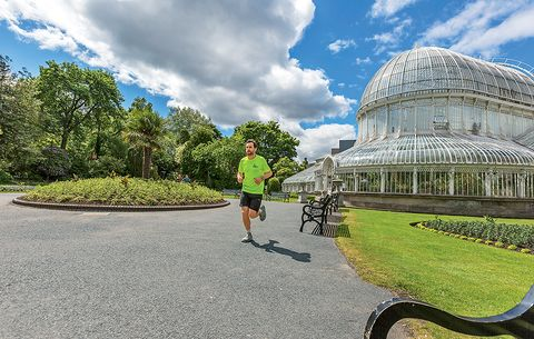 running the world belfast palm house botanical garden