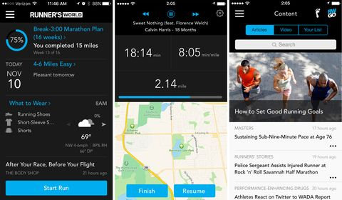 Introducing RW Go, the Free New App From Runner's World | Runner's World