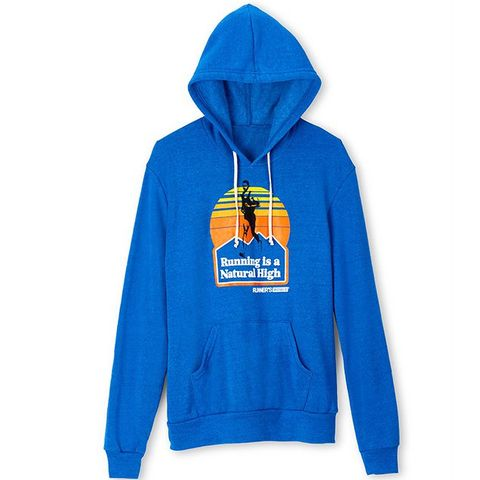 Runner's World natural high sweatshirt