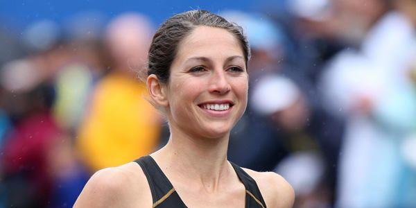 Sara Hall at the BAA 10 Mile in 2010.