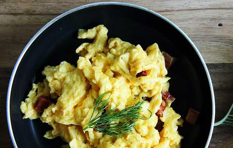 7 Mistakes You're Making With Your Scrambled Eggs