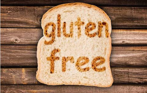 "bread that says ""gluten free"" on it."