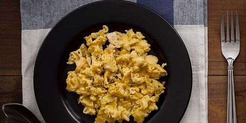 mmmm delicious scrambled eggs