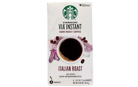 caffeine for runners Starbucks Via