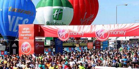 Start of the 2012 London Marathon