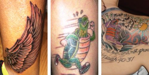 Six Feet Under Tattoo: 47 Awesome Running-Inspired Tattoos