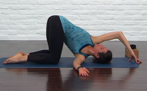7 great yoga poses for recovery  runner's world