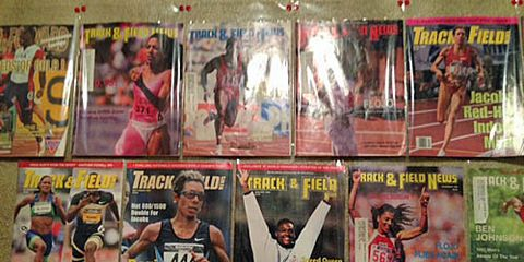 track and field news covers