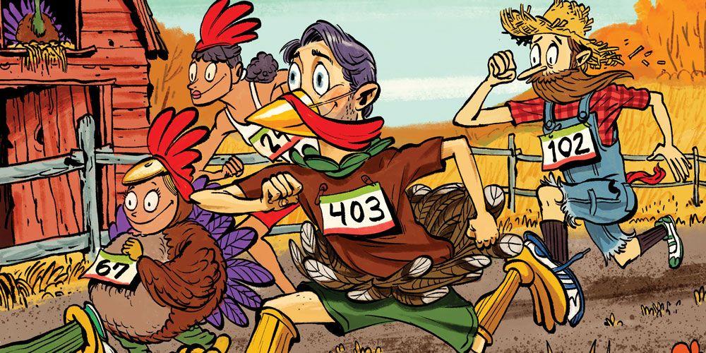 Turkey Trot family race