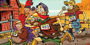 Turkey Trot family race