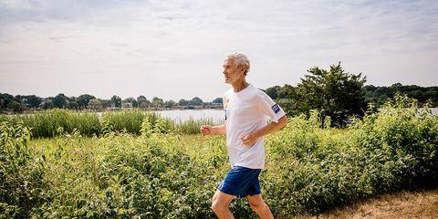 health benefits of running Amby Burfoot