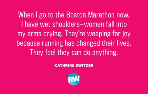 Boston Marathon Running Quotes Kathrine Switzer