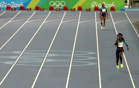 US women's 4x100 relay at 2016 Olympics