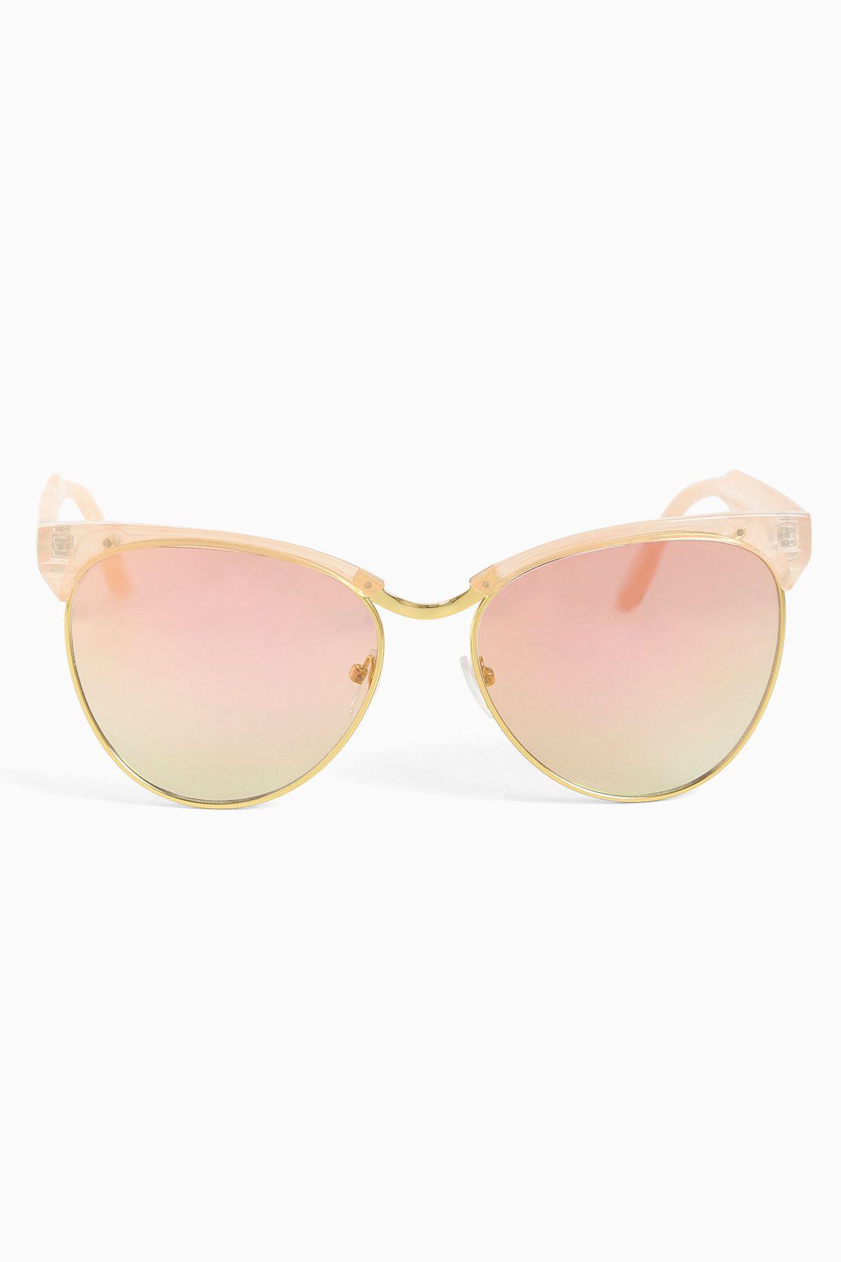 89f24c76391 Pink Framed Mirror Sunglasses - Mirror Decorating Ideas