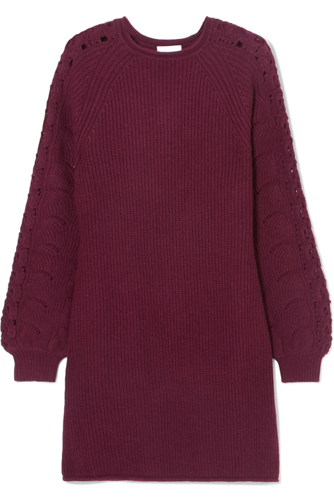 Clothing, Sleeve, Maroon, Red, Outerwear, Violet, Purple, Jersey, Magenta, Sweater,