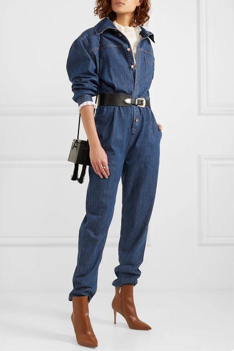 new product e0323 a081c Tendenze Jeans 2019: le tute di jeans faranno BOOM!